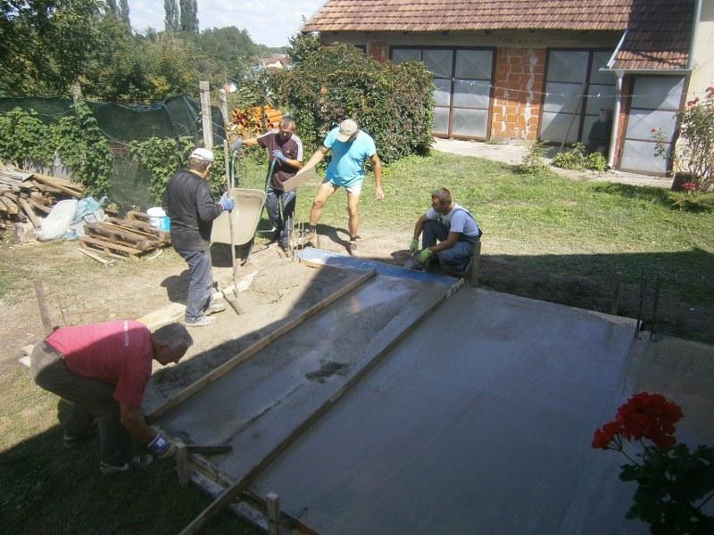 Izgradnja pomoćne zgrade-šupe