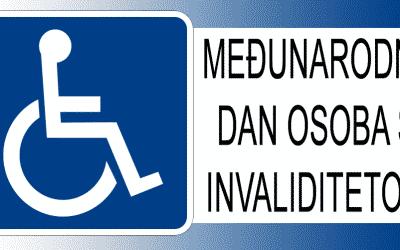 Obilježavanje Međunarodnog dana osoba s invaliditetom i Međunarodnog dana volontera