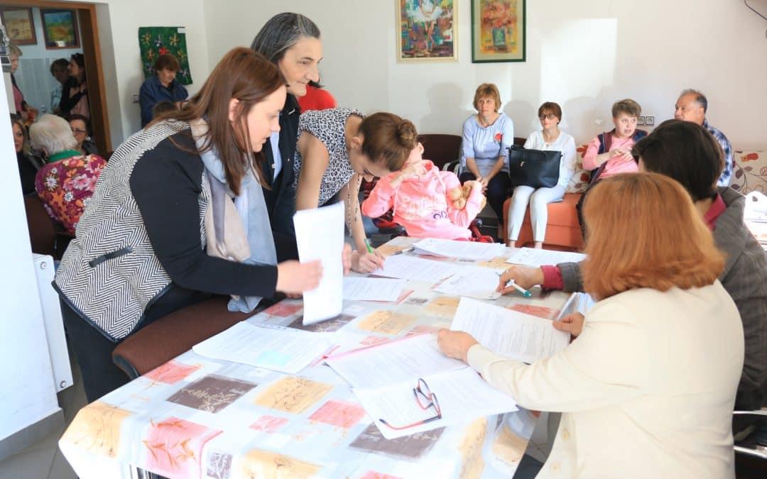 Potpisani Ugovori o suradnji za 13 korisnika usluge osobne asistencije i Ugovori o radu za 15 djelatnika