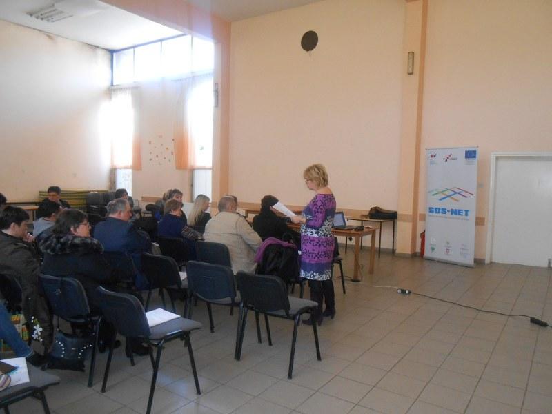 """Održana prva edukacija u sklopu projekta SOS-NET, """"DRŽAVNA POLITIKA SOCIJALNIH USLUGA"""""""