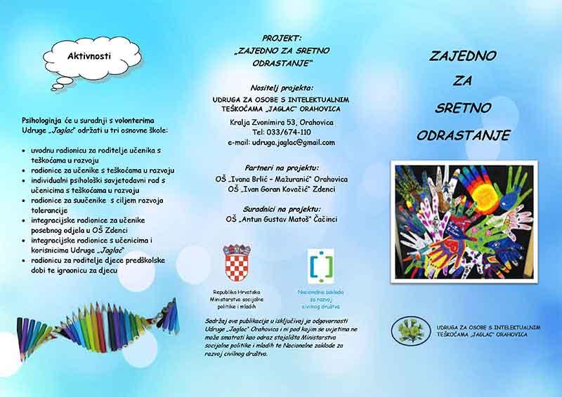 """Uvodna konferencija projekta """"Zajedno za sretno odrastanje"""""""