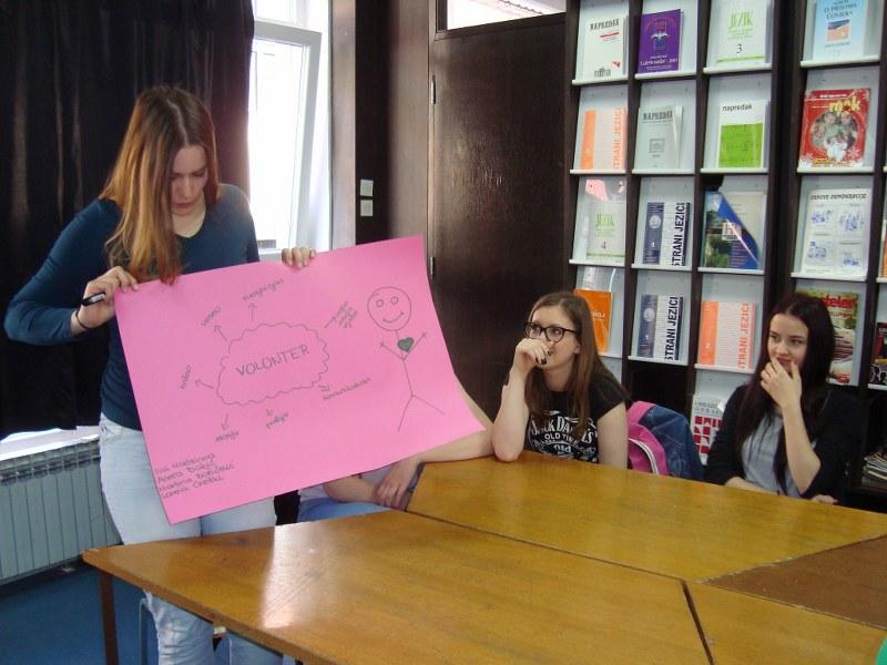 """Najava aktivnosti Udruge Jaglac u javnoj manifestaciji """"Hrvatska volontira"""""""