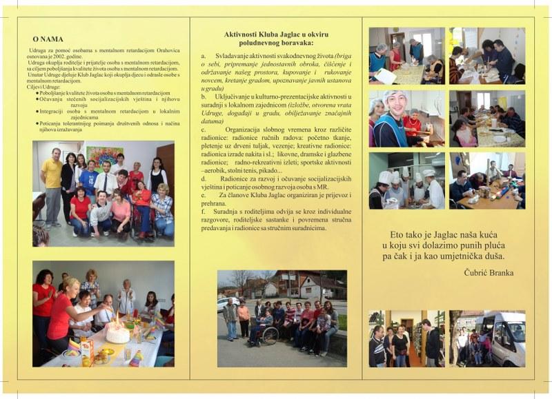 """""""ZA BOLJE SUTRA"""" jačanje sposobnosti organizacija civilnog društva za pružanje socijalnih usluga"""
