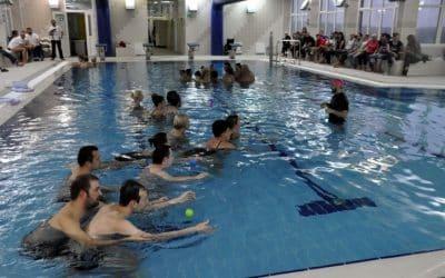 U sklopu programa Hallwick Ana Sršen održala obuku plivanja za osobe s posebnim potrebama