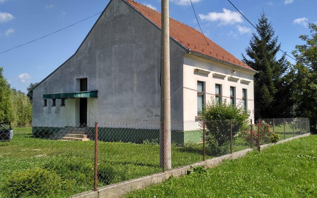 Radovi na uređenju stare škole u Novoj Jošavi