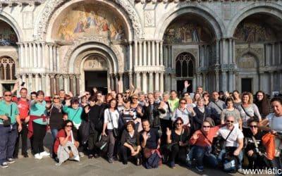 Predstavanica Udruge na studijskom putovanju u Italiji