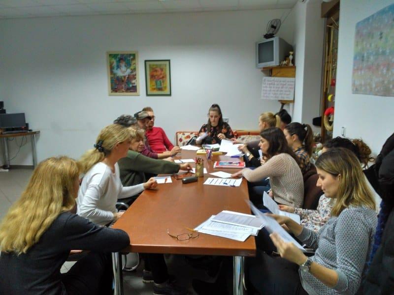 Sastanak i supervizija volontera i operativnog tima udruge