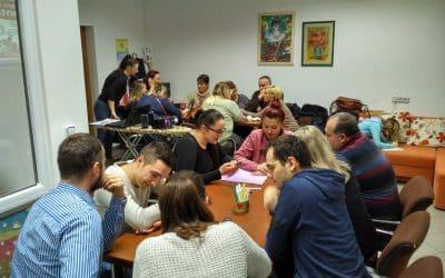 Sastanak volontera udruge Vretenac iz Slatine u udruzi Jaglac Orahovica