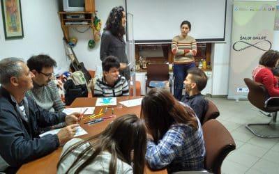 """Edukacije o inkluzivnom volontiranju i volontiranju u timovima u sklopu projekta """"Šalji dalje"""""""