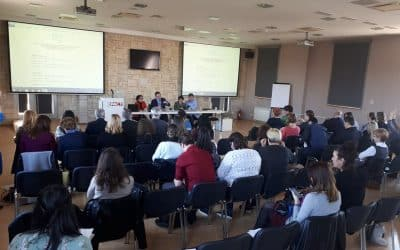 Predstavnici Udruge Jaglac na radionici korisnika Institucionalne podrške u Zadru