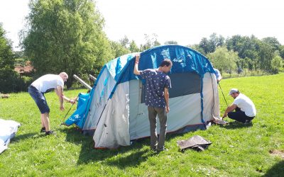 """Održani volonterski kampovi kroz projekt """"Šalji Dalje"""""""