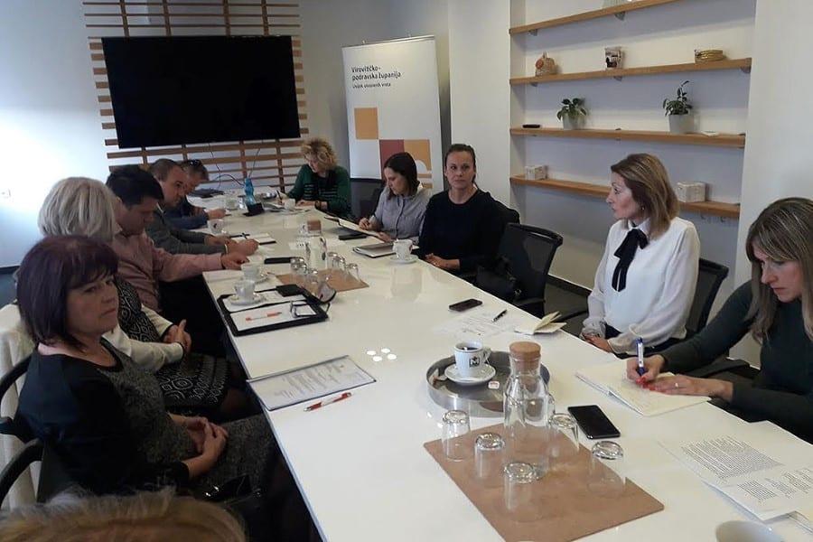 Održana prva sjednica Savjeta za socijalnu skrb VPŽ  i Radne grupe za izradu Plana socijalnih usluga