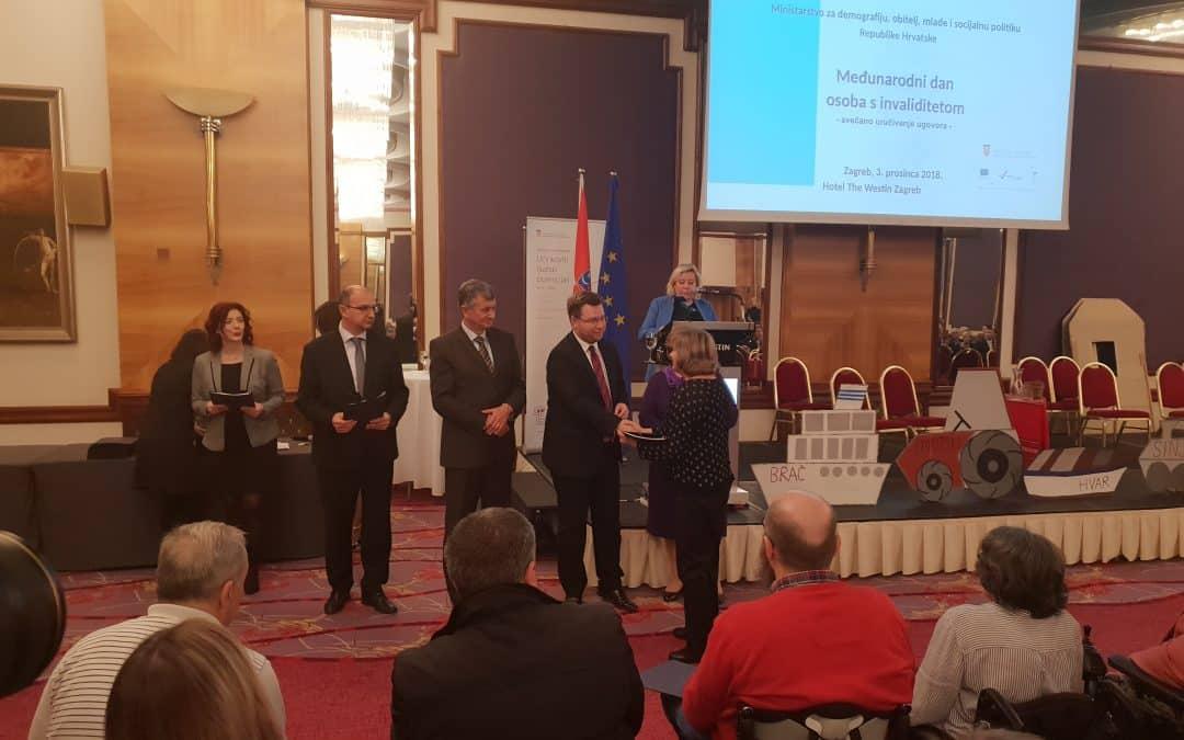 """Udruga Jaglac potpisala ugovor za """"Moj asistent III"""""""