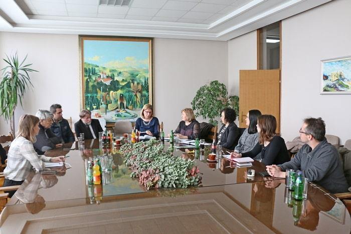 Predstavnici udruge Jaglac na sastanku s predstavnicima jedinica lokalne i regionalne  samouprave