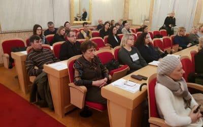Predstavnik udruge Jaglac na Savjetodavnoj regionalnoj radionici