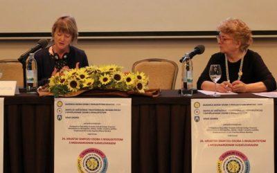 Predstavnik udruge Jaglac na 24. Hrvatskom simpoziju osoba s invaliditetom u Zagrebu