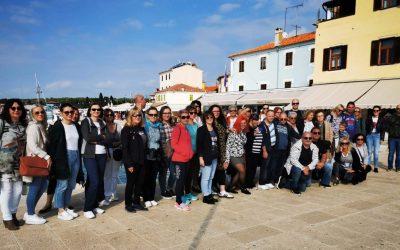 Predstavnice udruge Jaglac na Team buildingu Saveza