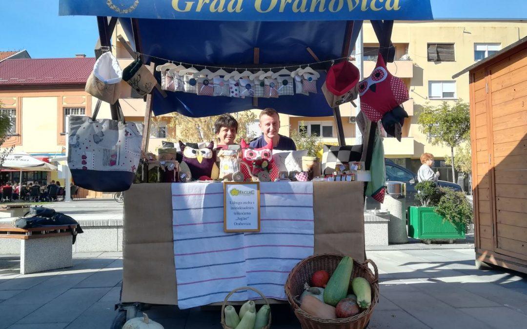 Jaglaci izlažu svoje proizvode na Danima kruha i Danima kestena i vina