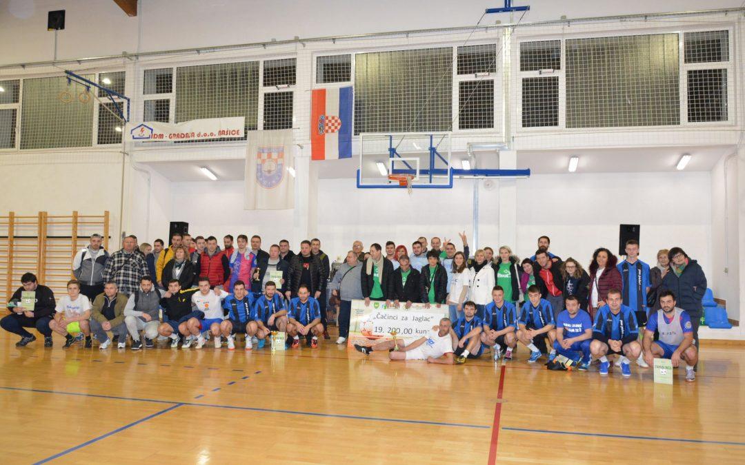 Održan 7. humanitarni nogometni turnir za Jaglac u Čačincima