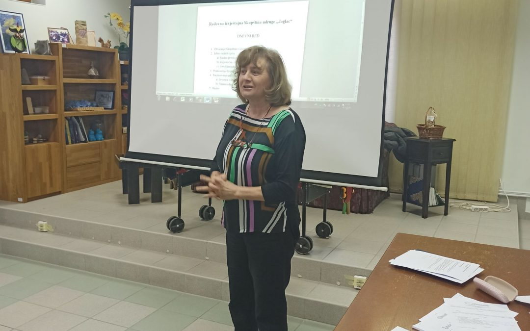 Održana Redovna izvještajna skupština udruge Jaglac