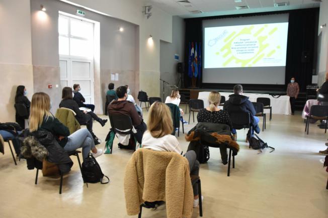 Udruga Jaglac predstavila svoj rad studentima MEFOS-a