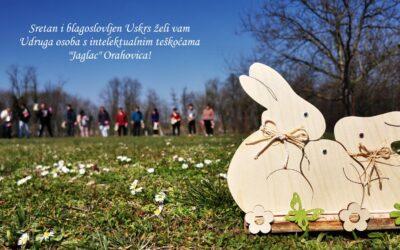 Blagoslovljen vam Uskrs!
