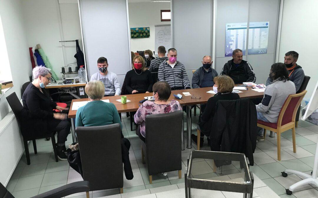 """Predstavnici partnera održali radionice stručne podrške za korisnike programa """"Jaglac"""" – moj drugi dom"""