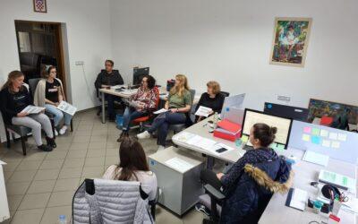 """Provedena radionica unutarnje evaluacije projektnog i operativnog tima udruge """"Jaglac"""""""