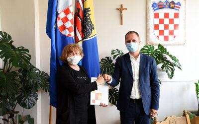 """Udruzi """"Jaglac"""" uručen ugovor za provedbu sportskih aktivnosti"""
